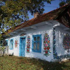 Самая цветная деревенька Польши: Залипье