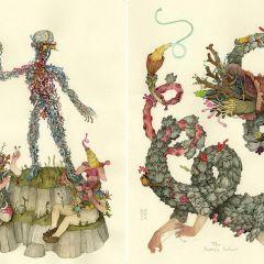 Загадочные иллюстрации Alex Kuno