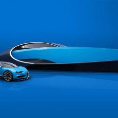 Bugatti выпустила роскошную модель яхты Niniette 66