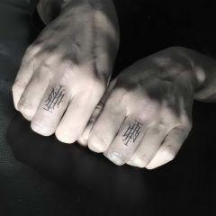 Утонченные татуировки Léo Gavaggio