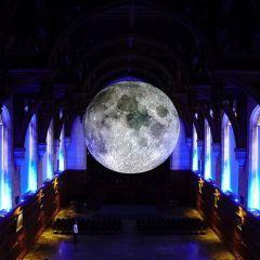 Точная копия Луны: проект Luke Jerram