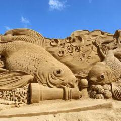 Песчаные скульптуры с фестиваля Søndervig Sand Sculpture Festival