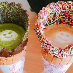 Вкусный тренд из Японии: кофе в вафельном рожке
