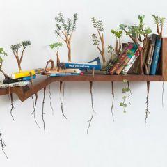Деревянные скульптуры Camille Kachani