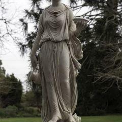 Цветные статуи XIX века Jane Long