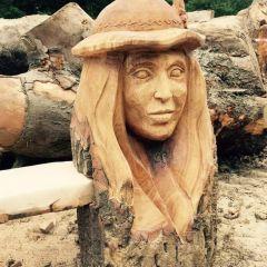 Скульптуры из дерева Gabi Rizea