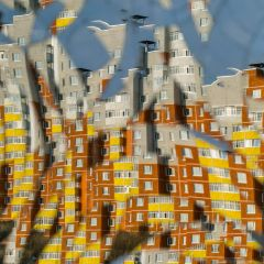 Современные дома в кривом зеркале: проект Asya Dobrovolskaya