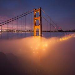 Туманный Сан-Франциско в фотографиях Michael Shainblum
