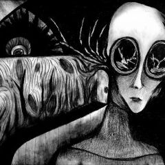 Жуткие рисунки Coni Fuentes