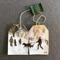 Рисунки на чайных пакетиках Ruby Silvious