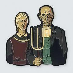 Значки в виде произведений искусства: Pin Museum