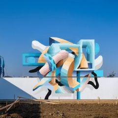 Геометрические граффити LEANS