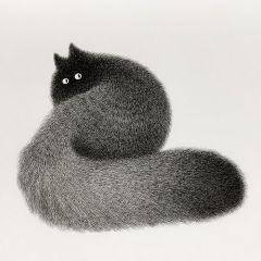 Милейшие нарисованные котики Kamwei Fong