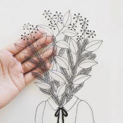 Бумажный арт Kanako Abe