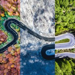 Дороги Трансильвании в фотографиях Calin Stan