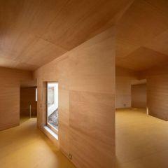 Деревянный дом в стиле минимализм Miya Akiko Architecture Atelier