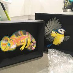 Бумажные фигурки животных Lisa Lloyd
