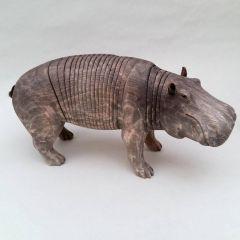 Деревянные скульптуры зверей Jeff Soan