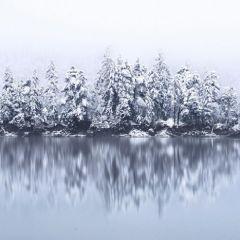 Настоящая зима в пейзажных снимках Kilian Schoenberger
