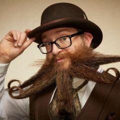 Конкурс бородачей 2019: новые креативные укладки